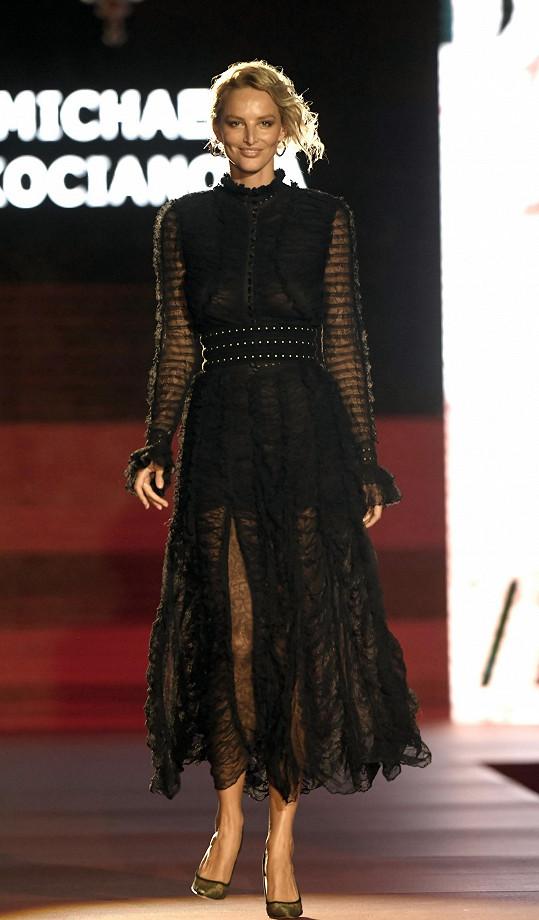 Michaela je ambasadorkou soutěže Schwarzkopf Elite Model Look.