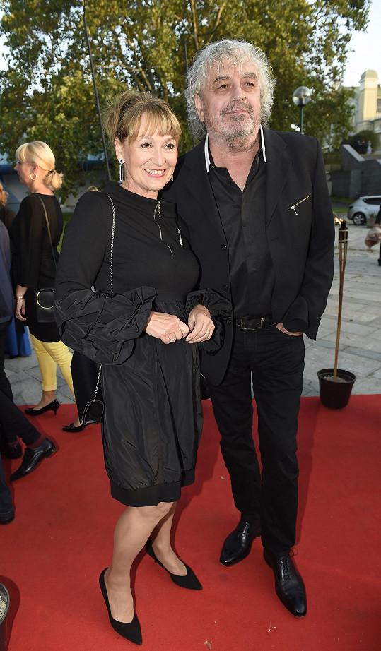 Petra s manželem Jiřím