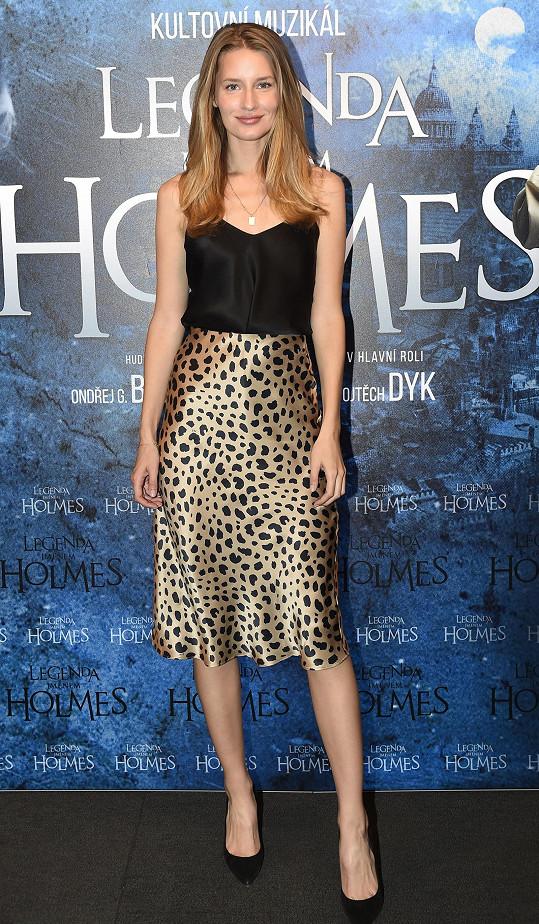 Nejkrásnější ženou na premiéře byla topmodelka Linda Vojtová.