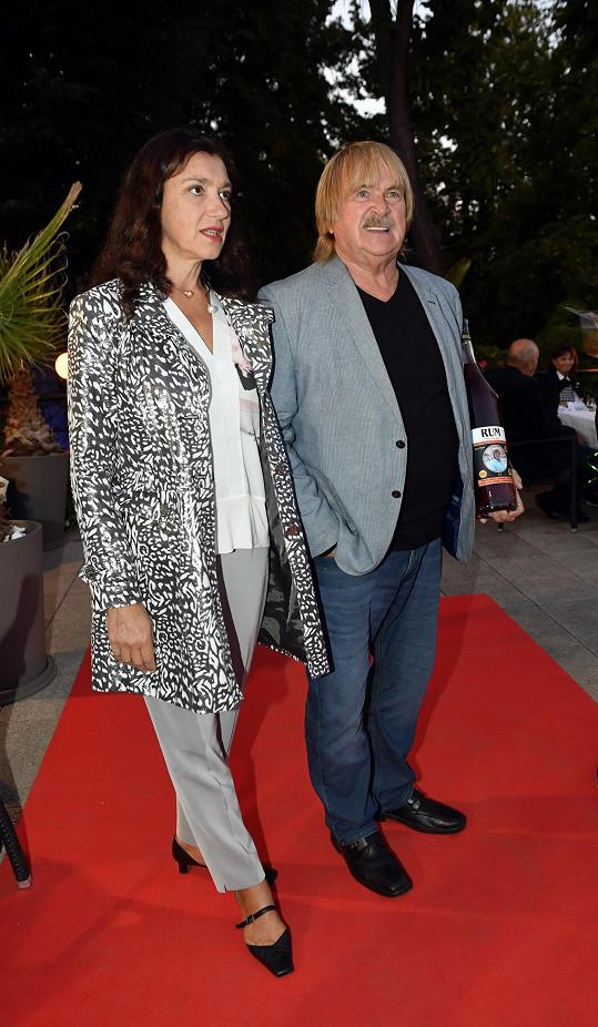 Karel Vágner s partnerkou