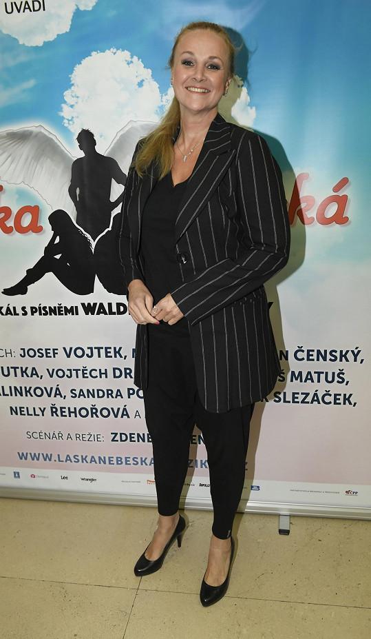 Zpěvačka a moderátorka Linda Finková
