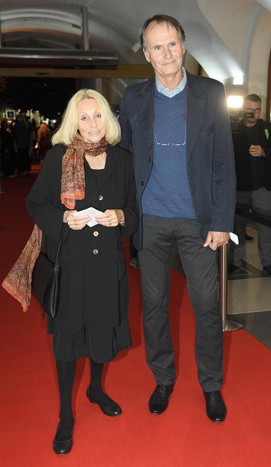Herec Marian Roden dělal doprovod režisérce Olze Sommerové.