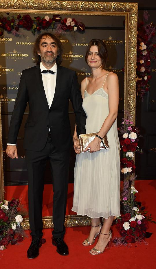 Jakub Kohák s manželkou