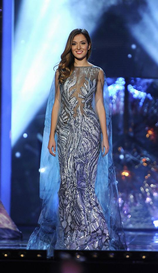 Andrea Bezděková vyhrála roku 2016 Českou Miss.