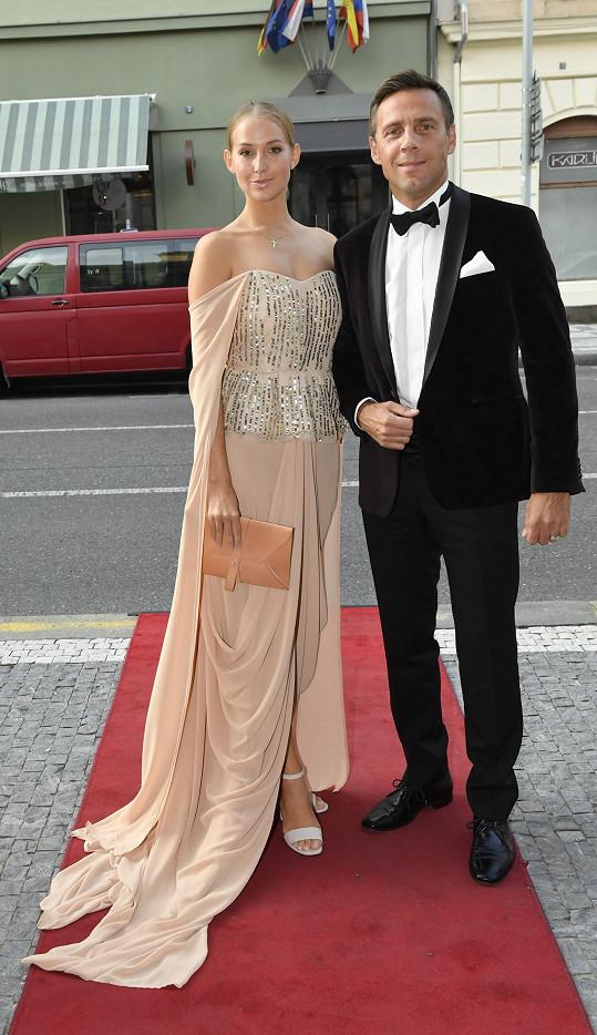Roman Vojtek s manželkou Petrou Vraspírovou