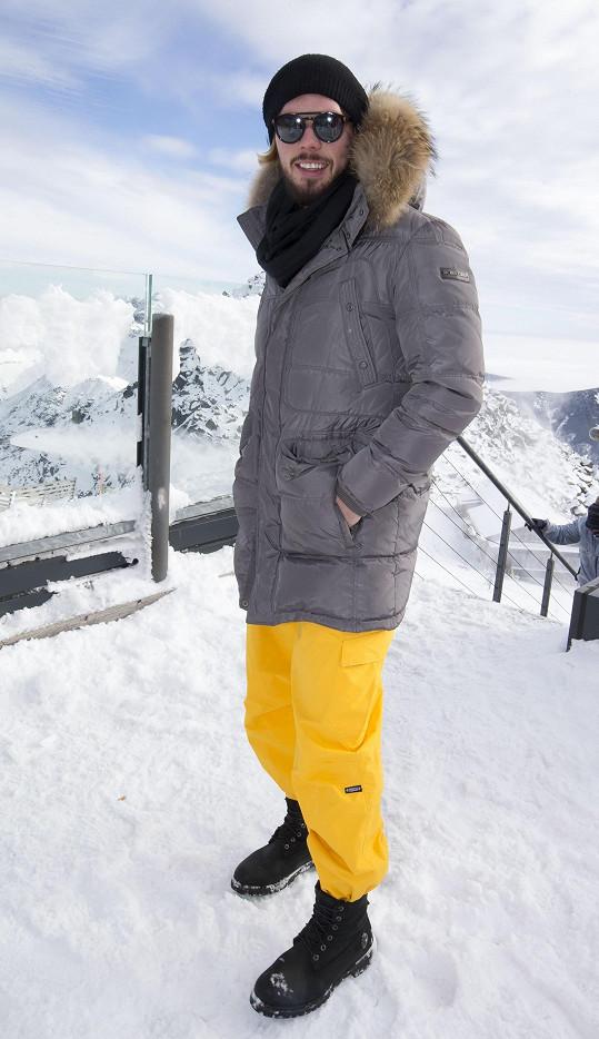 Na výletě na vrchol hory Chopok