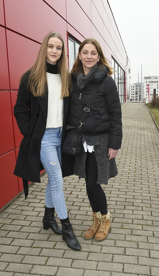 S maminkou Lucií Zedníčkovou