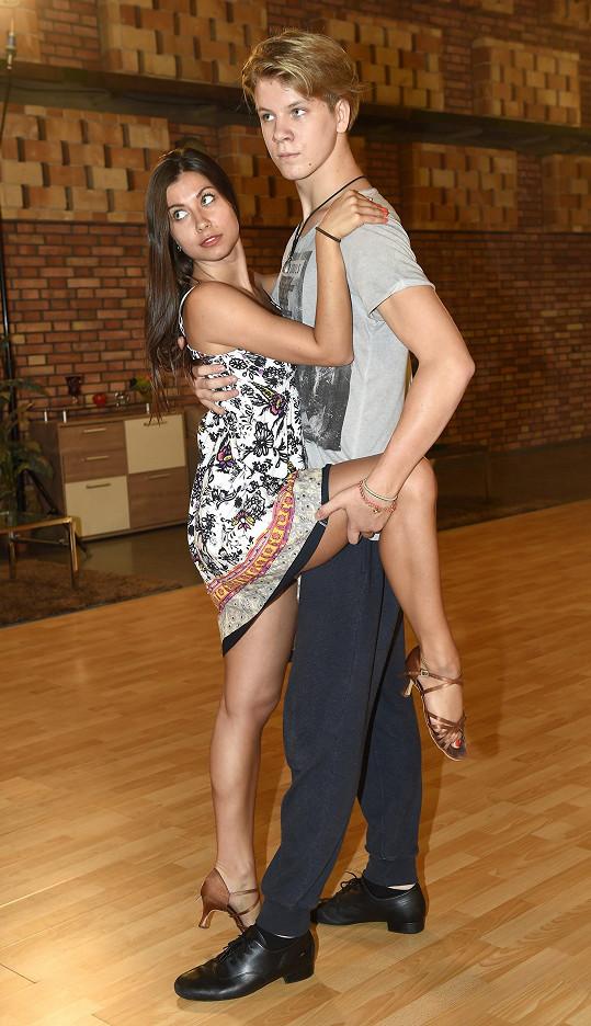 Pro herce je zatím nejvíc náročné tango, zároveň se mu tento tanec nejvíc líbí.