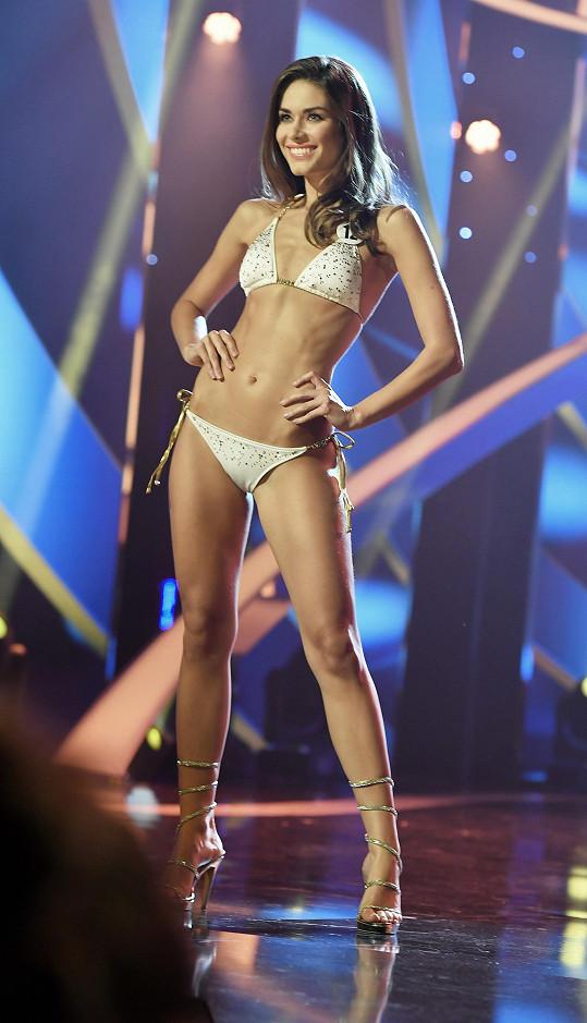 Karolína na finále České Miss
