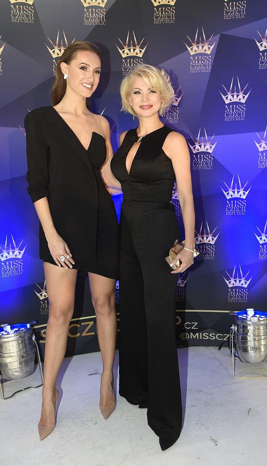 Natali s šéfkou soutěže Táňou Makarenko