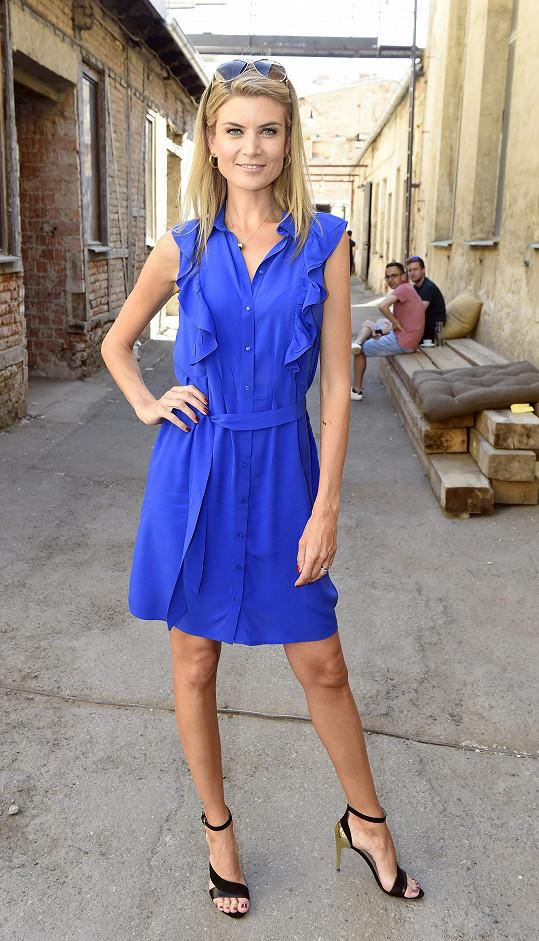 Iveta byla jednou z porotkyň při výběru finalistek Miss Czech Republic.