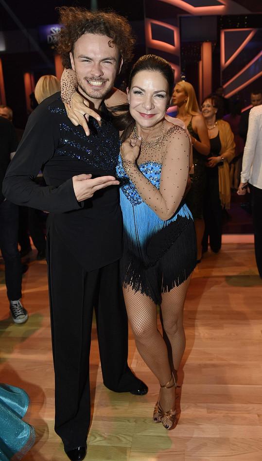Anna K s Markem Hrstkou po prvním tanečním večeru