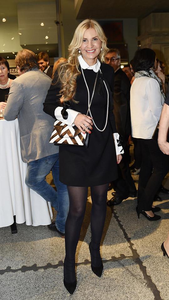 Mezi diváky byla Tamara Kotvalová.