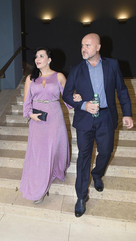 Operní pěvkyně Andrea Kalivodová s manželem Radkem Tögelem