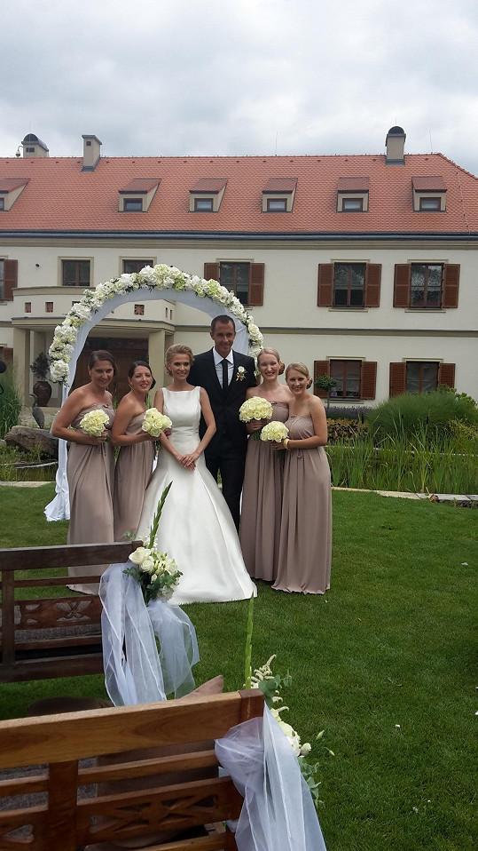 Míša Ochotská a Lukáš Rosol jsou manželé.