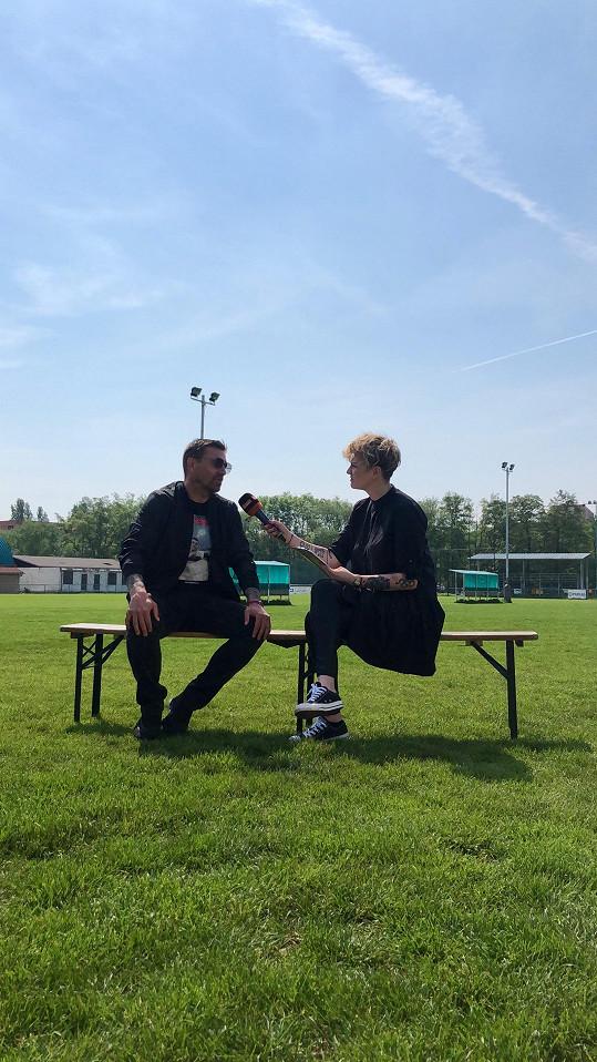 S reportérkou Markétou Křivánkovou