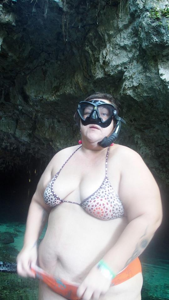 Věra si dovolenou v Dominikánské republice užila se vším všudy.