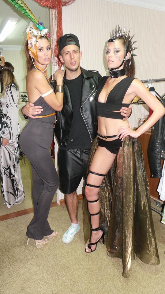 Focení měl produkčně pod palcem tanečník Filip Jankovič.