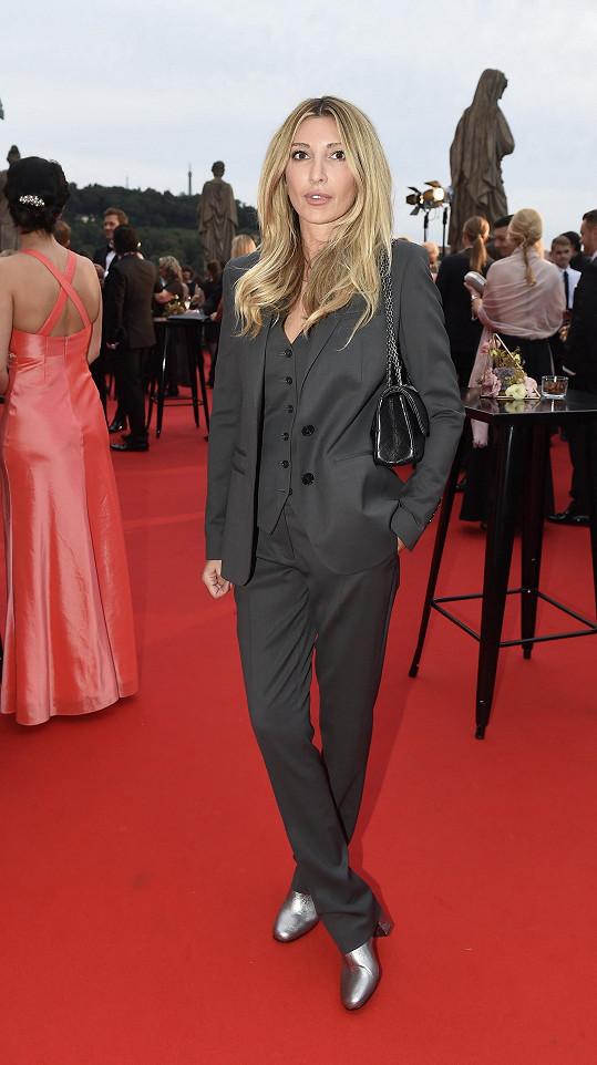 Ivana Mentlová má ráda minimalistickou módu.