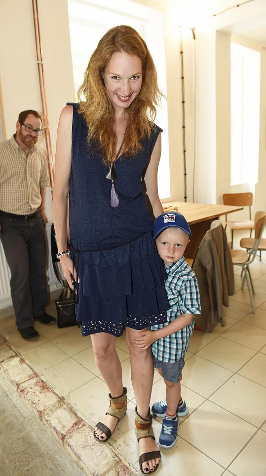 Z prvního manželství má Pepina syna Michálka.
