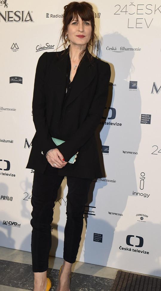 Španělská herečka Arly Jover, nominovaná na Lva za vedlejší roli ve filmu Masaryk