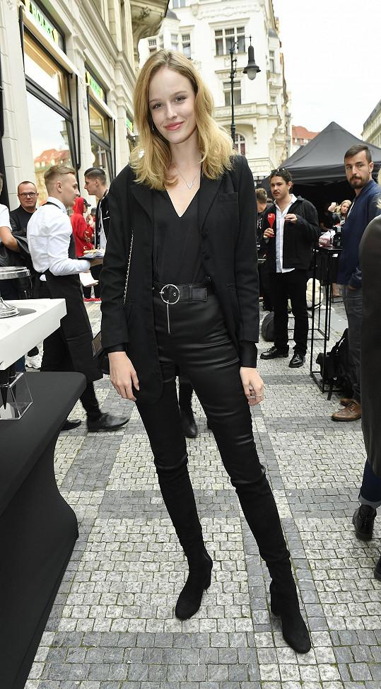 Aneta je vítězkou Elite Model Look 2015.