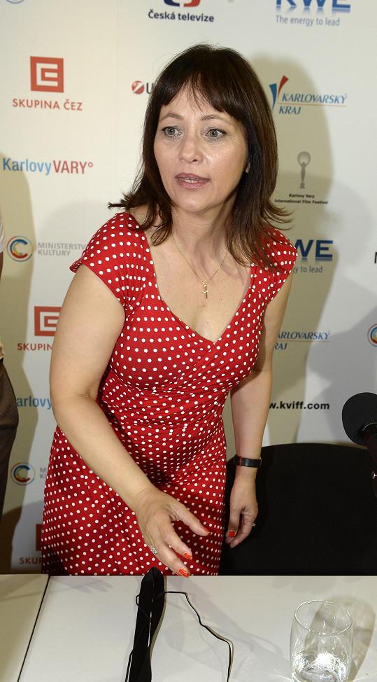 Na tiskové konferenci k filmu Domácí péče