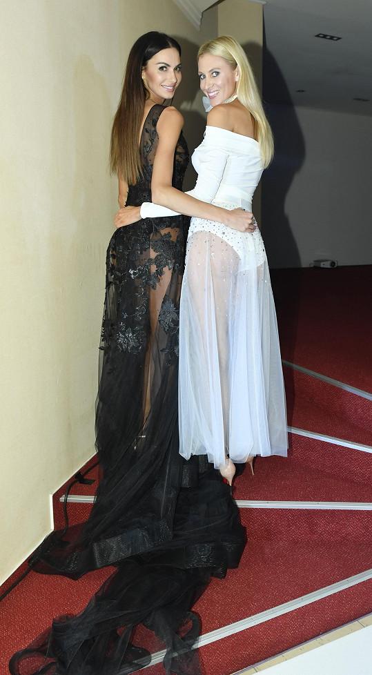 s kamarádkou Kateřinou Průšovou