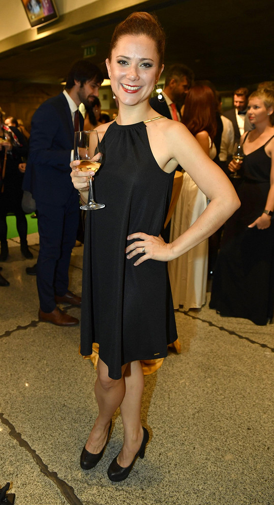 Ivana Korolová ztvárnila na premiéře Jane.