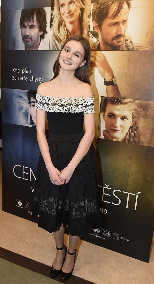 Malá Olga má jednu z hlavních rolí.
