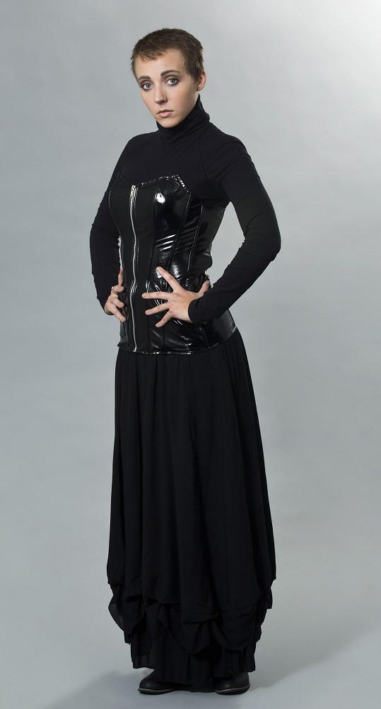 Slováčková v roli Sinéad O'Connor