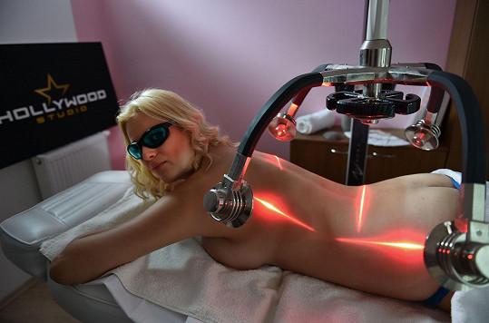 Hubne za pomoci liposukce laserem.