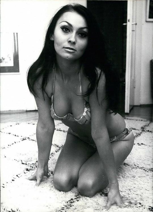 Sylvia Turbová byla krásná žena.