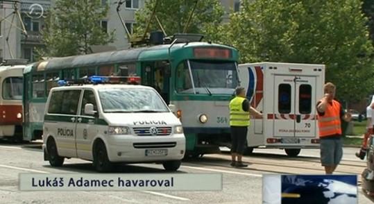 Bouračka zastavila v Košicích i hromadnou dopravu.