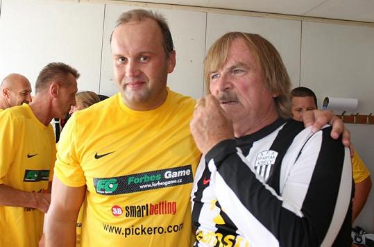 Marek Vít s Karlem Vágnerem.