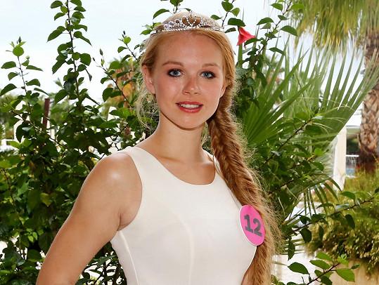 Šebková se dostala do týmu modelek Dominiky.