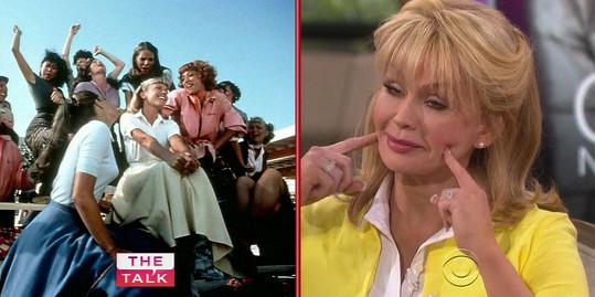 Olivia před čtyřiceti lety a dnes