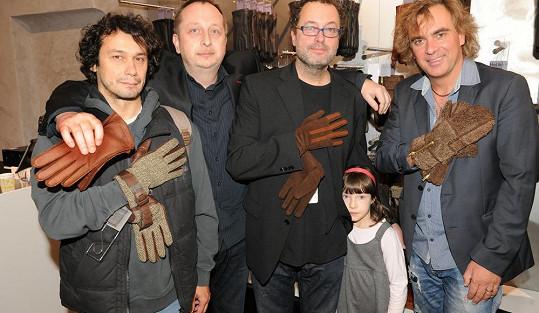 Přišli i Pavel Liška a Tomáš Matonoha.