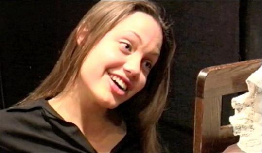 Angelina se i přes mnohé herecké zkušenosti dále rozvíjela.