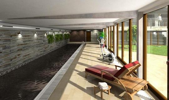 Relaxace a bazén je také k dispozici.