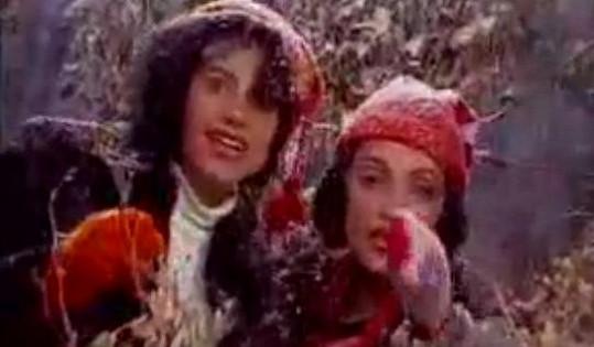 Ilona Csáková a Lucie Bílá v legendárním klipu Láska je láska (1992)