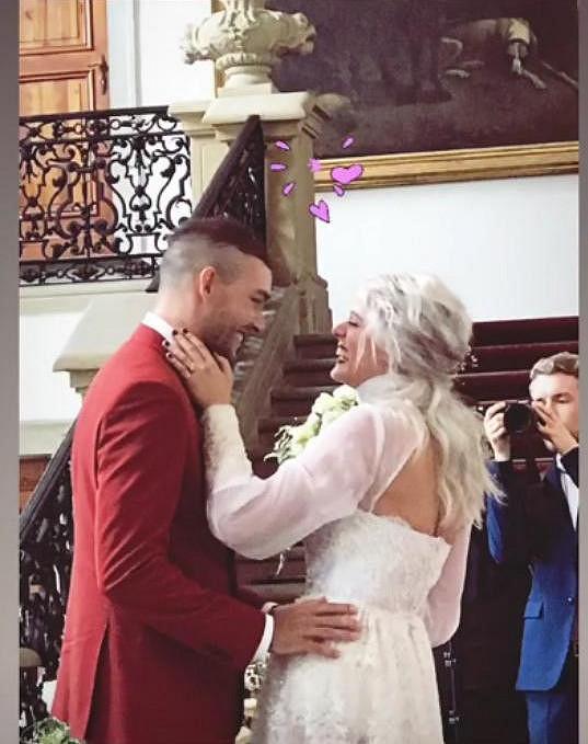 Terezie se letos v květnu vdala.