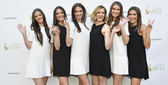 Finalistky České Miss 2019