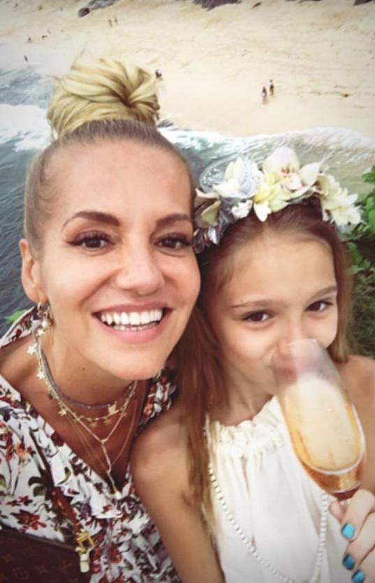 Dara s dcerou Lolou si svatbu užily.