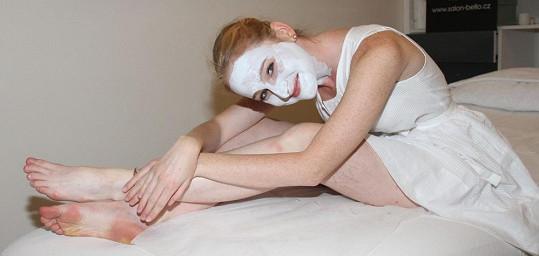 Tereza Vágnerová na kosmetice