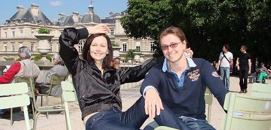 Irina Bezrukova s manželem Sergejem.