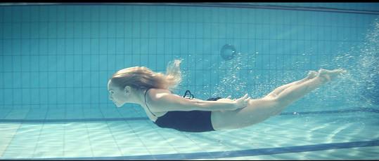 Jako mořská panna...