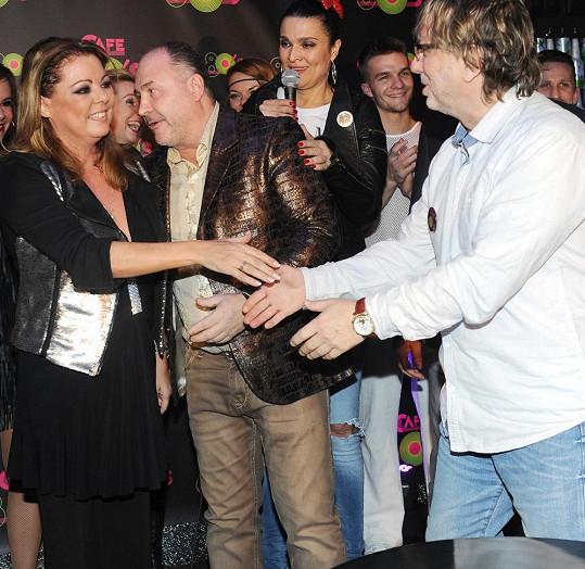 Ze setkání z hvězdou byl nadšený Dalibor Janda.