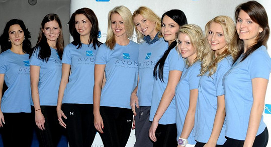 Daniela se s finalistkami Miss Aerobik zúčastnila kurzu sebeobrany Krav Maga.