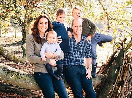 Rodinná pohoda u Kate a Williama